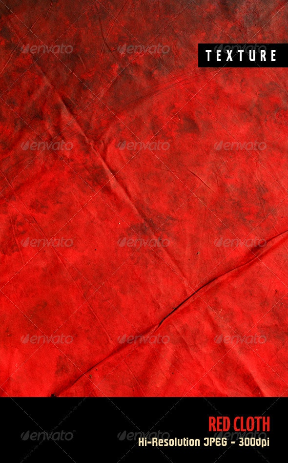Red Cloth - Fabric Textures