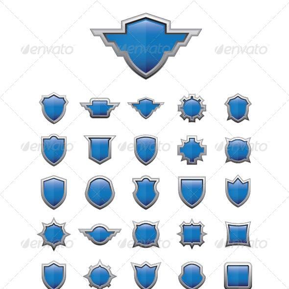 30 Shield Glossy