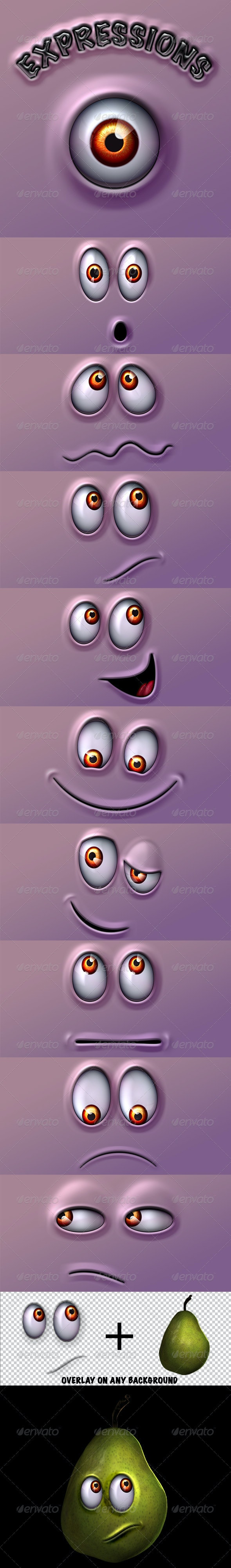 Character Expressions Pack - Characters Illustrations