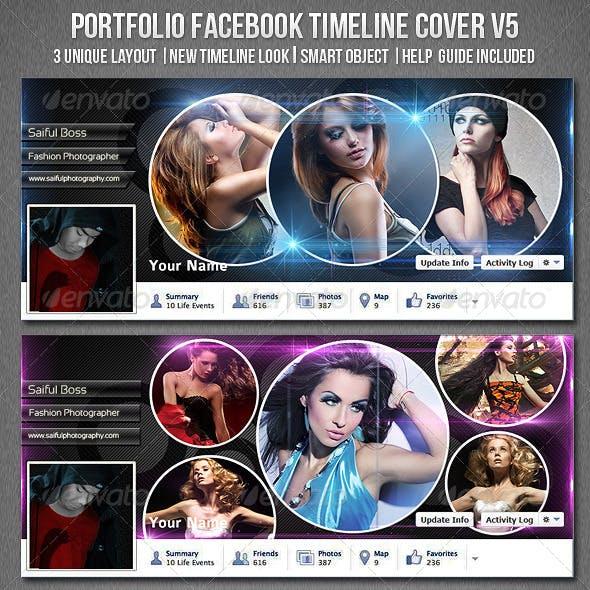 Portfolio Facebook Timeline Cover V5