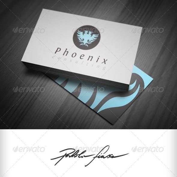 Phoenix Logo - Heraldic Logo - Security Logo