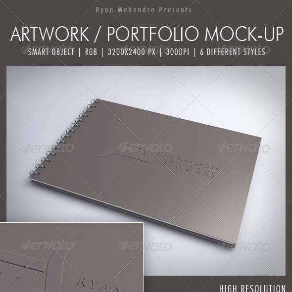 Artwork / Portfolio Mock-Up