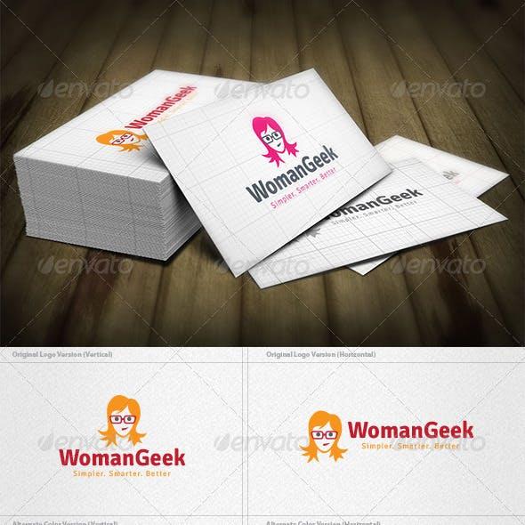 Woman Geek Logo