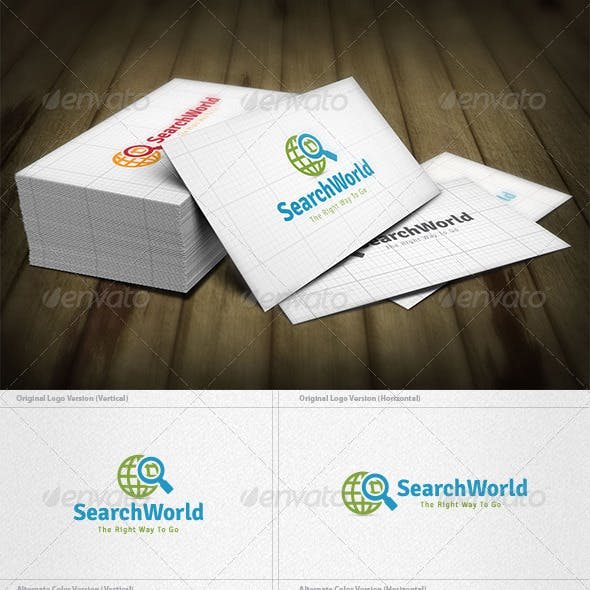 Search World Logo