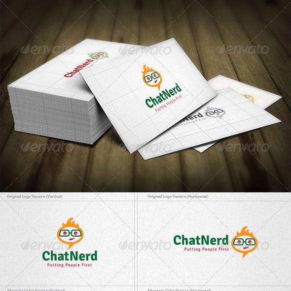 Chat Nerd Logo