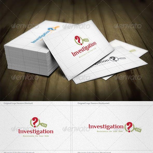 Investigation Logo