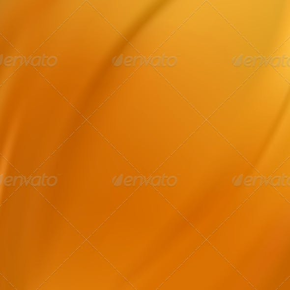 Orange Silk Background