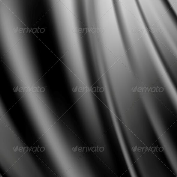 Abstract Texture, Black Silk