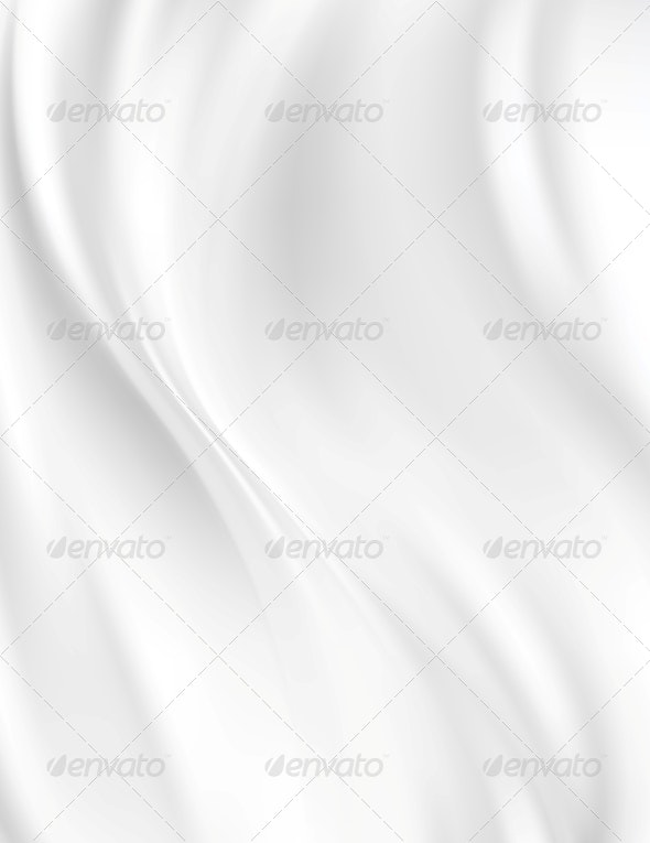 White Silk Background - Fabric Textures
