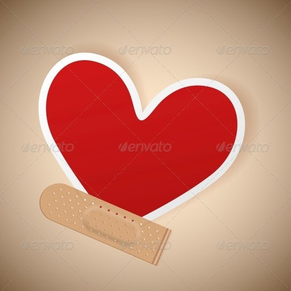 Plaster and Heart