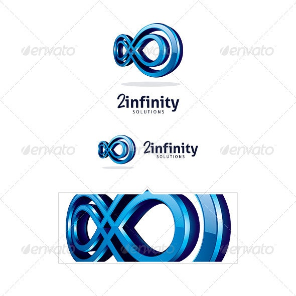 2infinity Logo Template - Vector Abstract