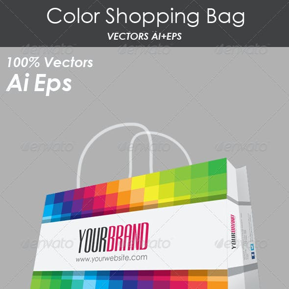 Color Shopping Bag
