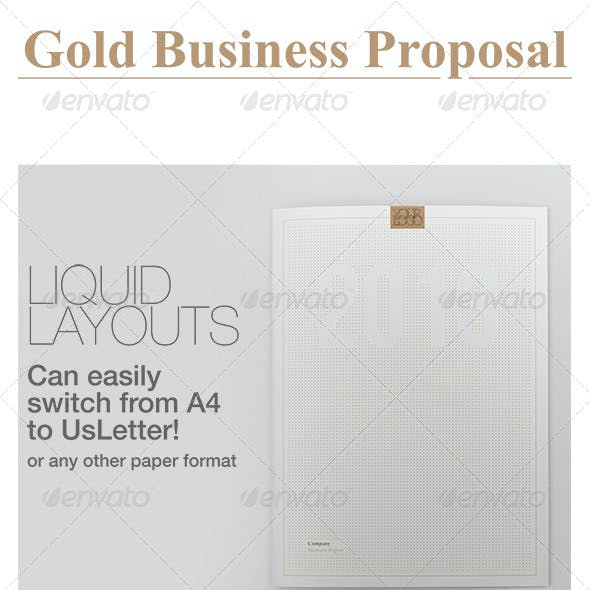 Gold Business Proposal