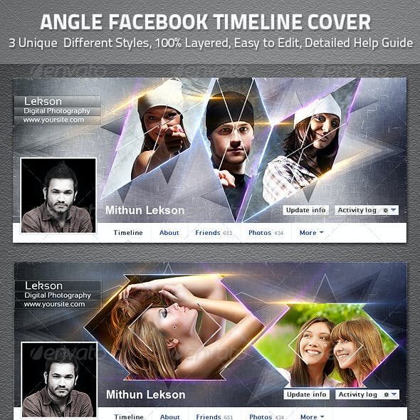 Angle Facebook Timeline Cover
