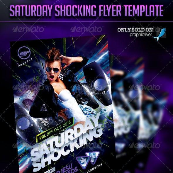 Saturday Shocking Flyer Template