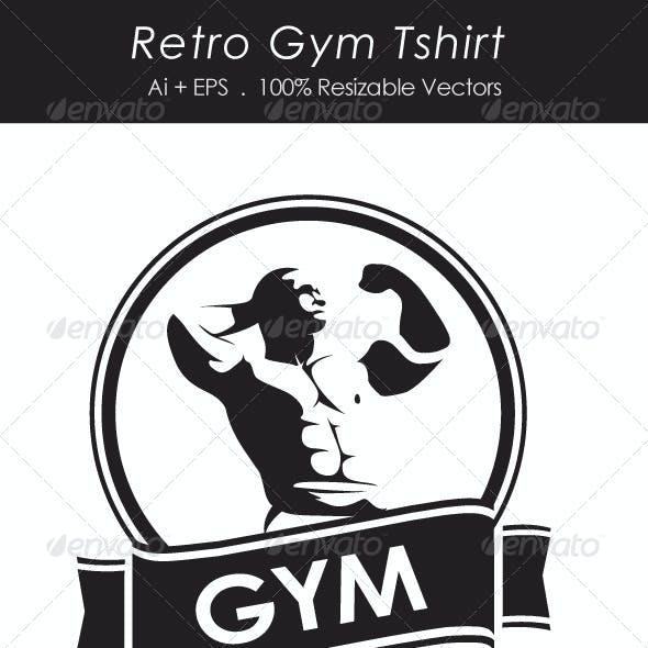 Retro Gym Tshirt
