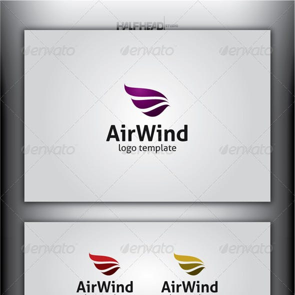 AirWind Logo Template
