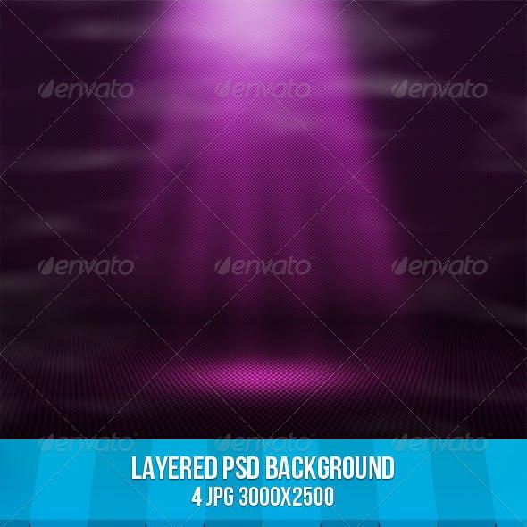Magic Spotlight Background