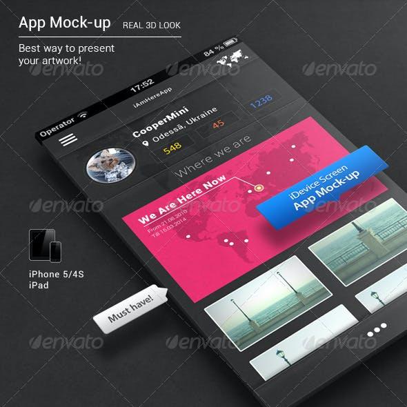 App Mock-up