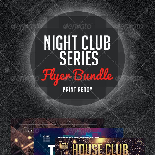 Night Club Series Flyer Bundle V.1