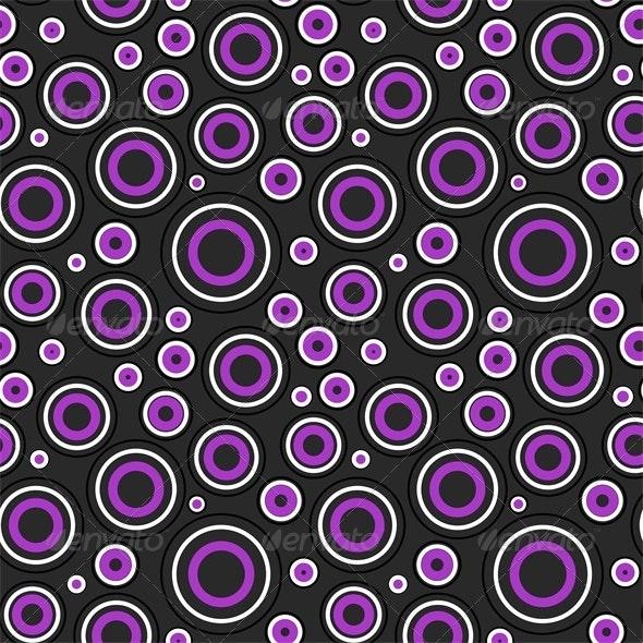 Modern Circles Pattern - Patterns Decorative