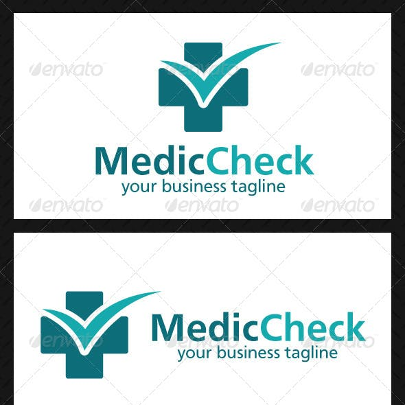 Medic Check Logo Template