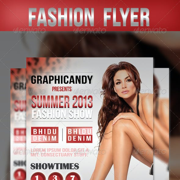 Fashion Flyer + Poster + Facebook Cover