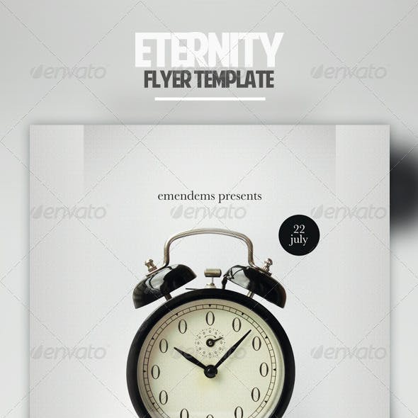 Eternity Flyer Template