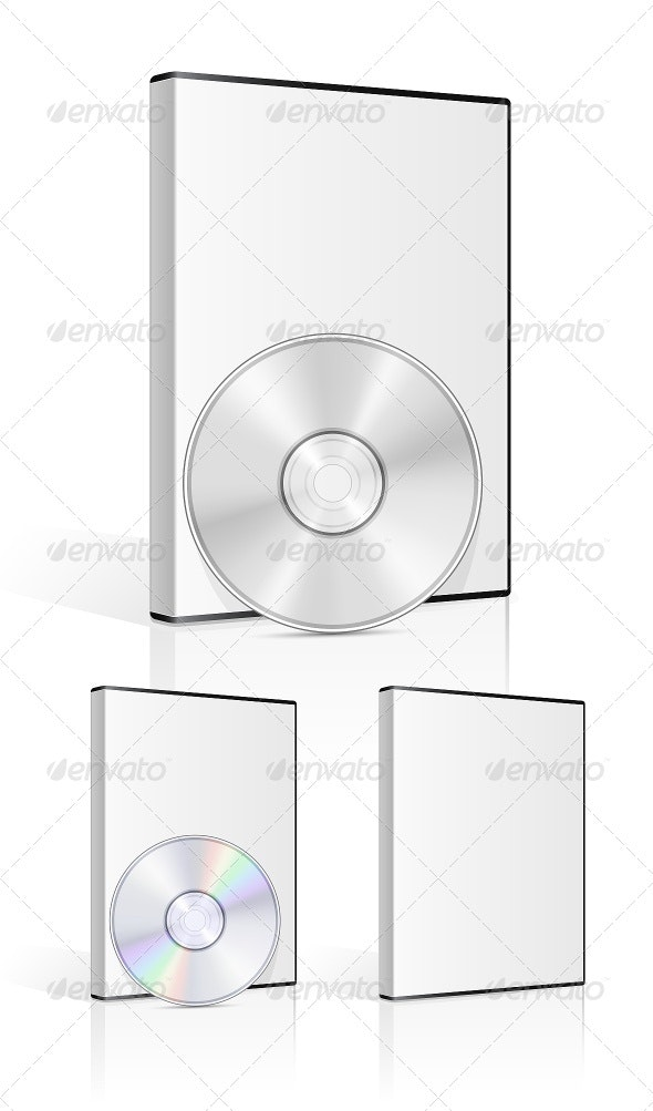 DVD Case and Disk - Media Technology