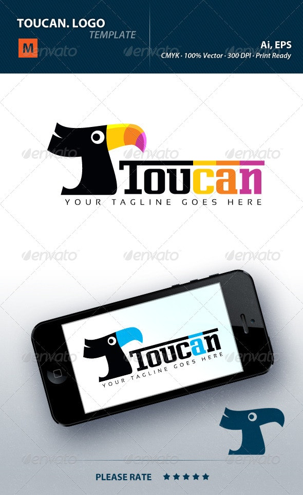Toucan Logo - Animals Logo Templates