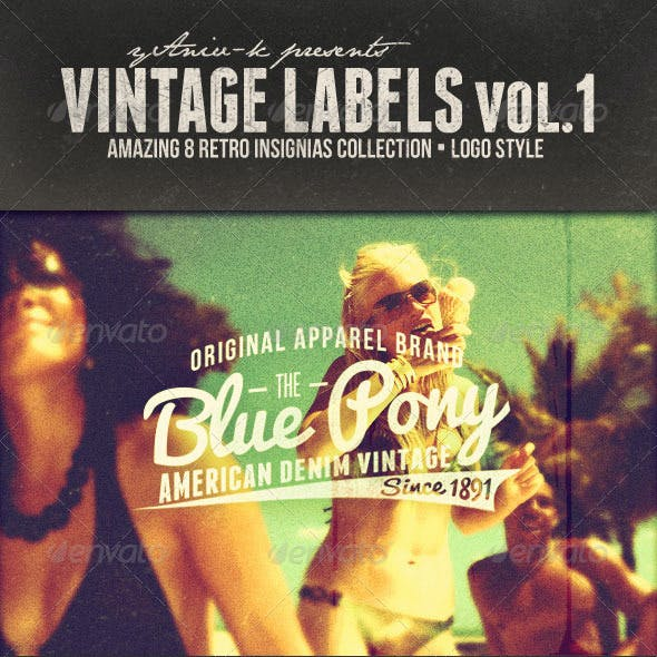 Vintage Labels Vol.1