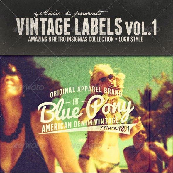Vintage Labels Vol.1