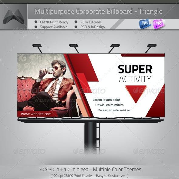 Multipurpose Corporate Billboard - Power Triangle