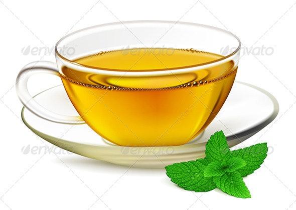 Cup of Tea - Objects Vectors