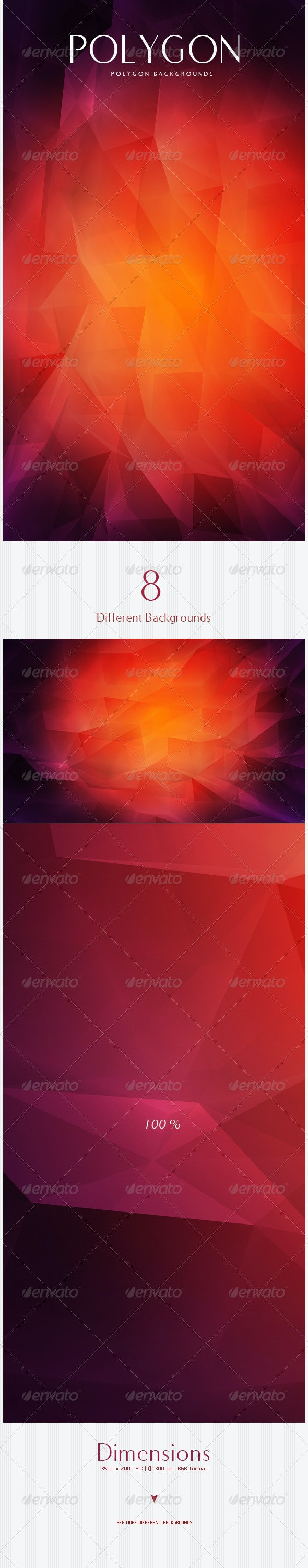 Polygon Backgrounds - 3D Backgrounds