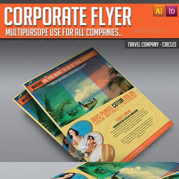 Corporate Flyer - Circles