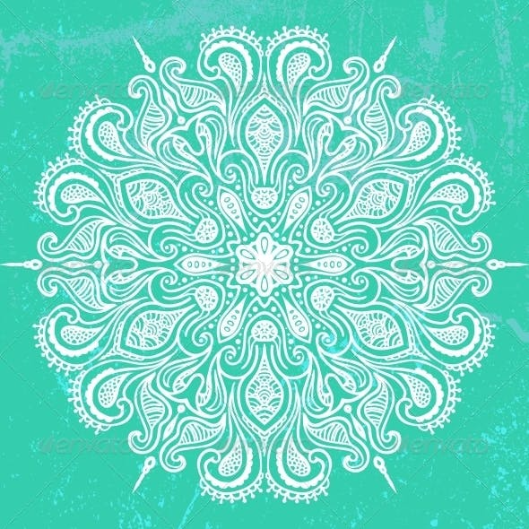 Vector Illustration of Mandala Design