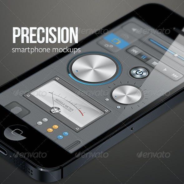 Precision Phone Mockups