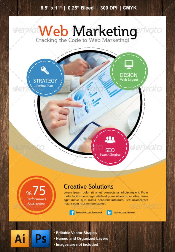 Marketing Flyer - Corporate Flyers