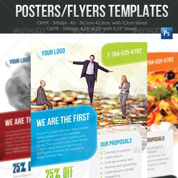 Poster Template A3