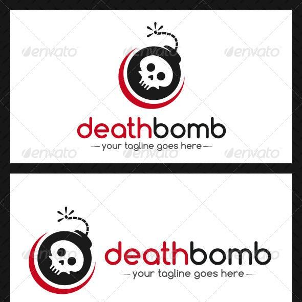 Death Bomb Logo Template
