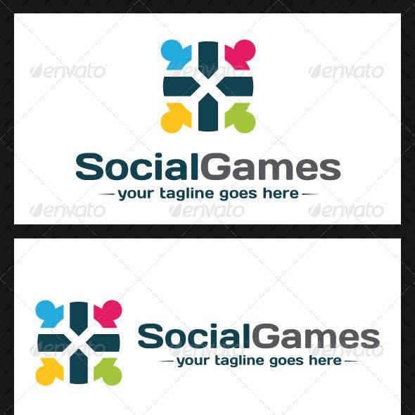 Social Games Logo Template