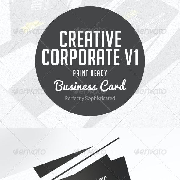 Creative Corporate Business Card V.1