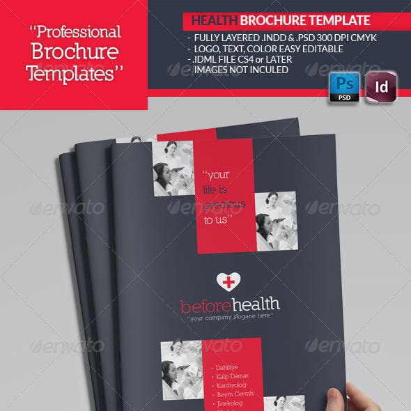 Health Brochure Template