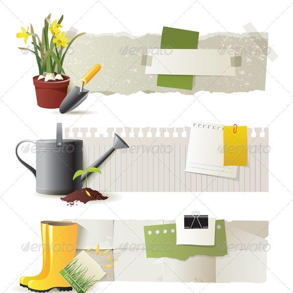 Gardening Banners