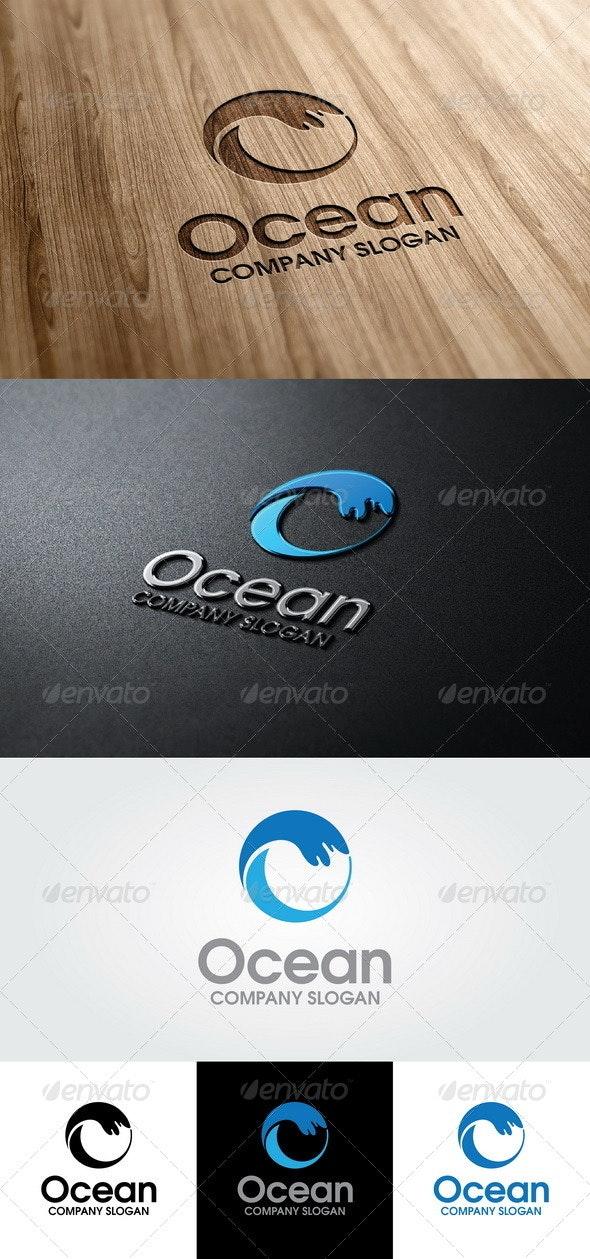 Ocean Logo - Abstract Logo Templates