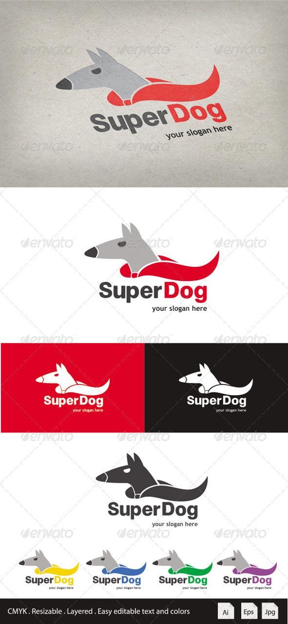 Super Dog Logo - Animals Logo Templates