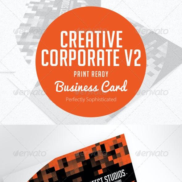 Creative Corporate Business Card V.2