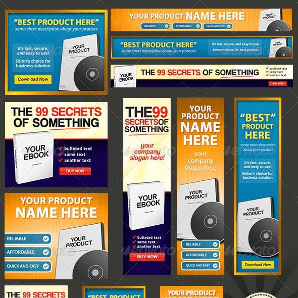 Product Box - Web Banner Design Bundle