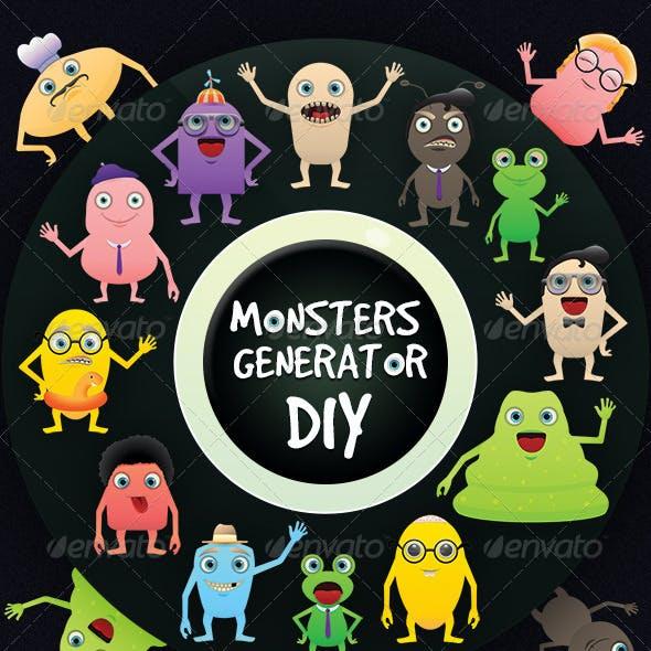 Monsters Generator DIY